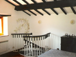 Stairs Into Double Bedroom